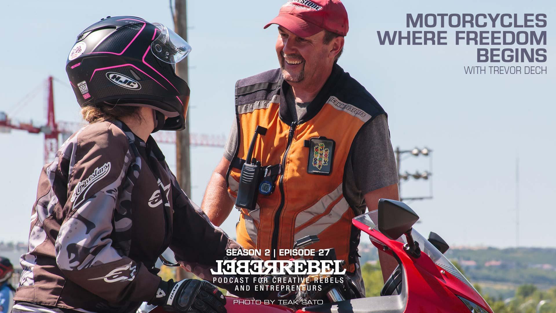 Rebel - Trevor Dech of Too Cool Motorcycle School