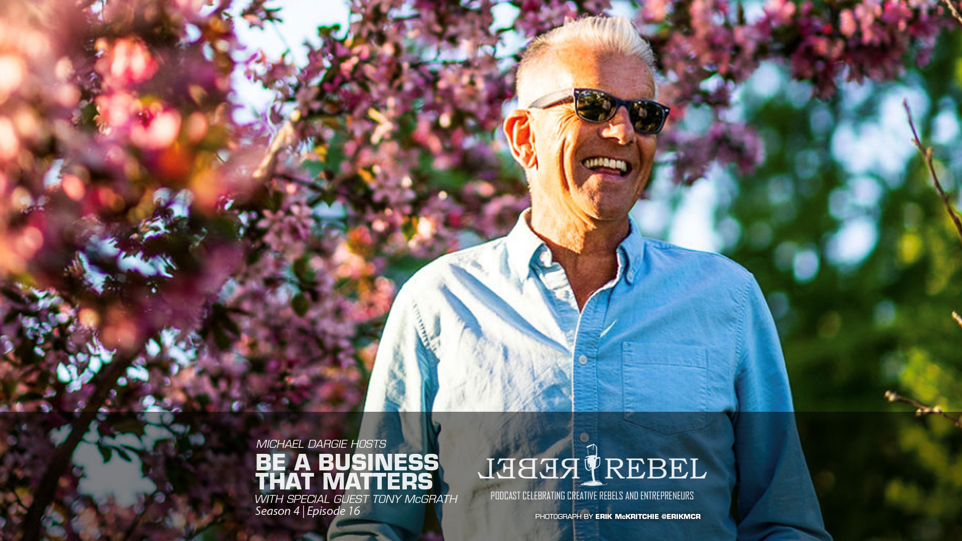 Tony McGrath on the RebelRebel Podcast