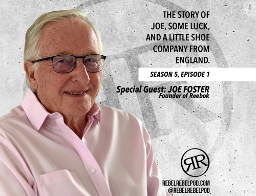 The story of Joe, some luck, and a little shoe company from England